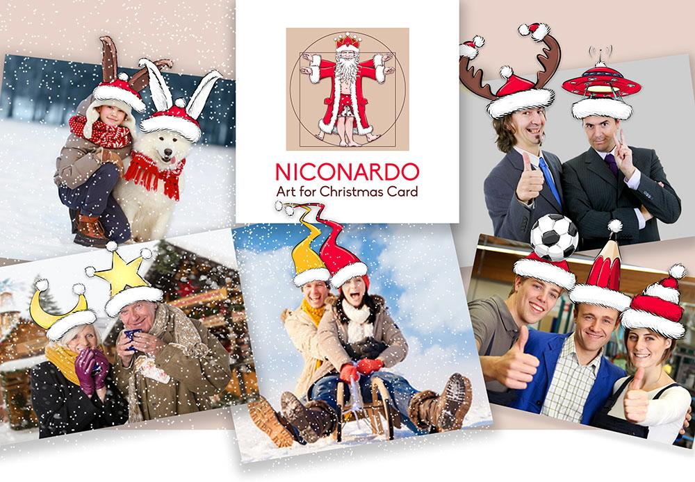 Weihnachtsmotive for Photoshop weihnachtskarte